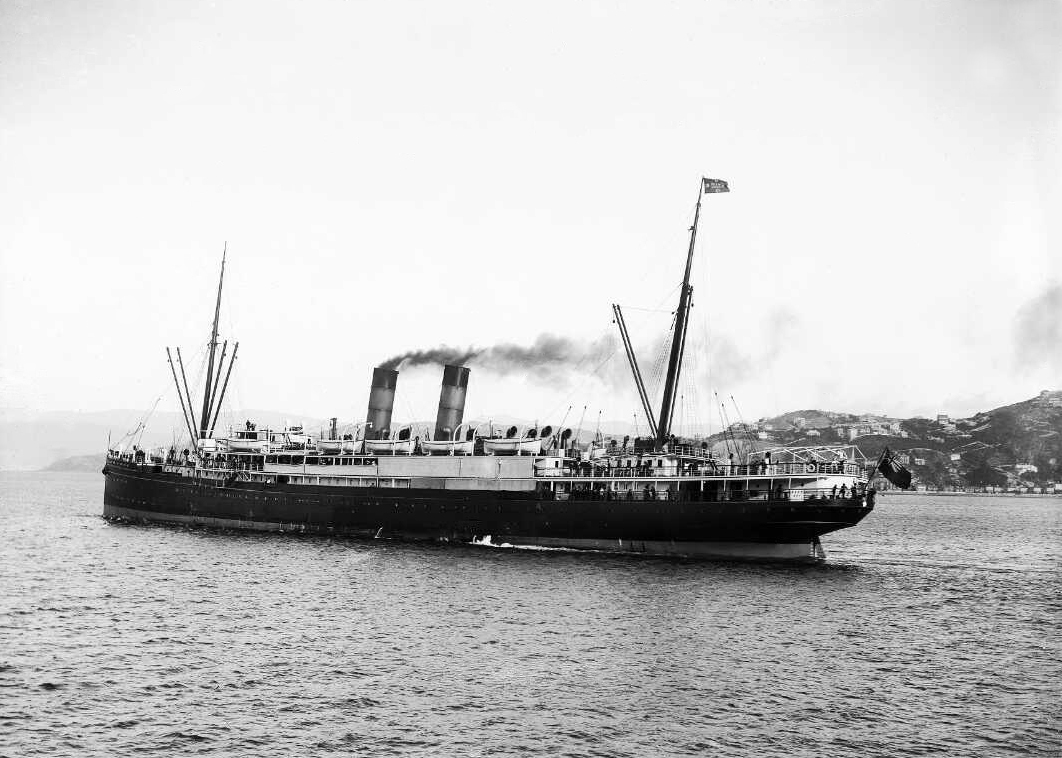 The Asmuss family arrived in Auckland on the Maheno in March 1920.