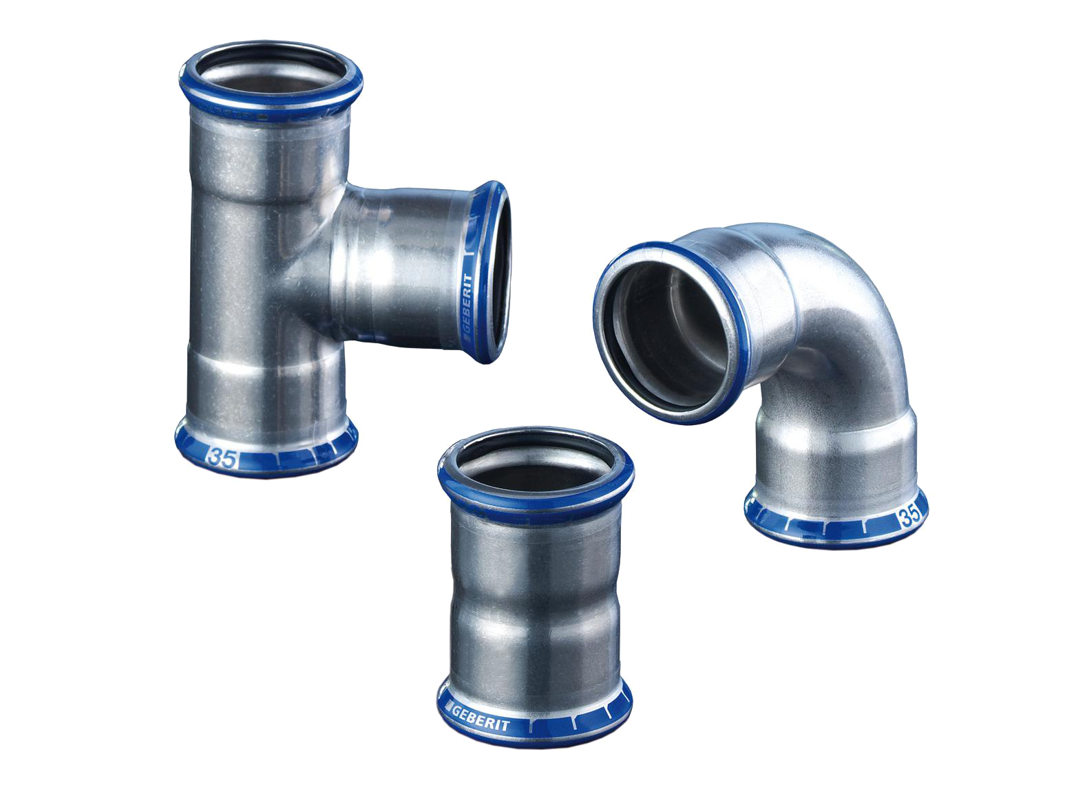 Mapress Stainless Steel Fittings